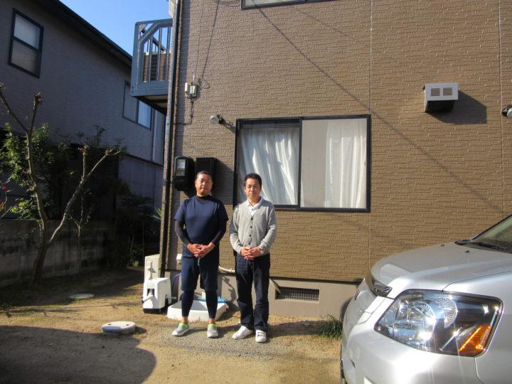 岡山市中区 M様邸 外壁共