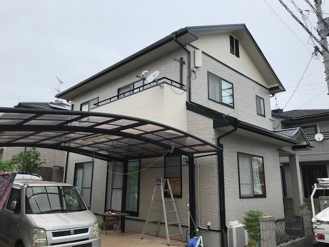 岡山市南区 H様邸 外壁塗装