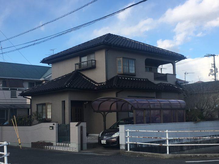 岡山市南区 T様邸 外壁塗装