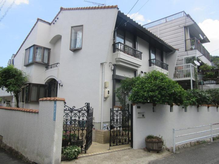 岡山市中区 H様邸 外壁塗装