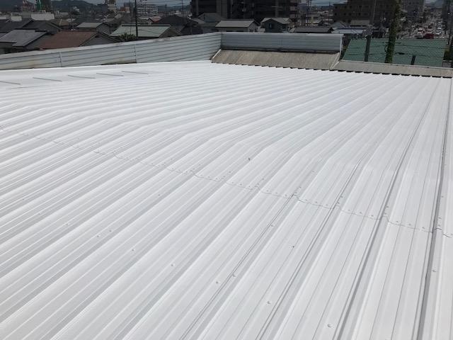 岡山市東区 某工場 屋根塗装