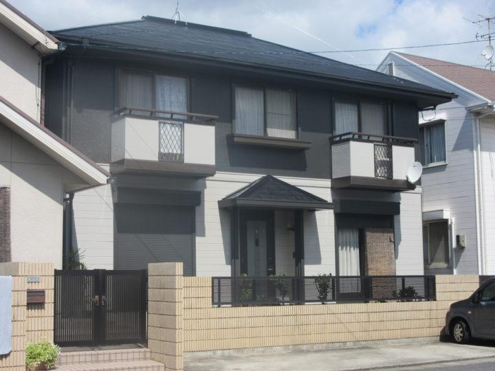 岡山市南区 Y様邸 外壁塗装・屋根塗装