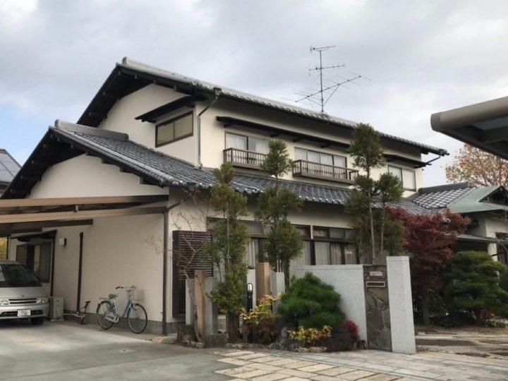 岡山市北区 Y様邸 外壁塗装・瓦棟補修