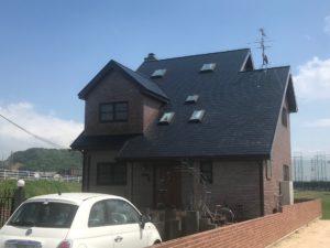 岡山市北区 M様邸 屋根塗装