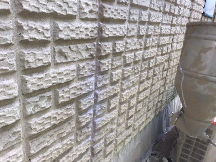 外壁下塗り(吹付)