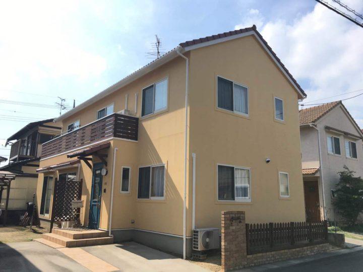岡山市南区 K様邸|外壁塗装・屋根塗装