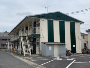 岡山市南区 某アパート|外壁塗装、屋根塗装