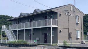 和気郡和気町 アパート  外壁・屋根シリコン塗装