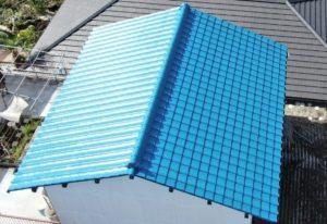 岡山市北区建部 屋根シリコン塗装