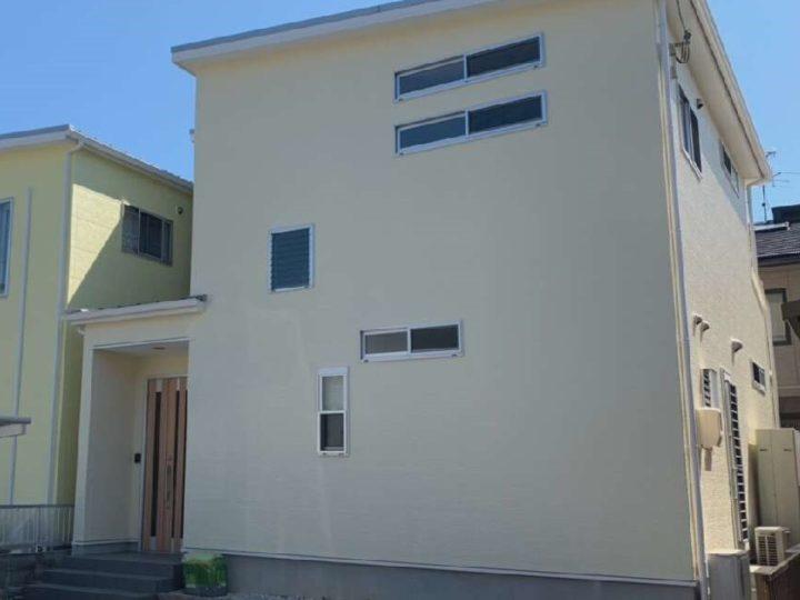 岡山市北区 F様 外壁無機フッ素塗装