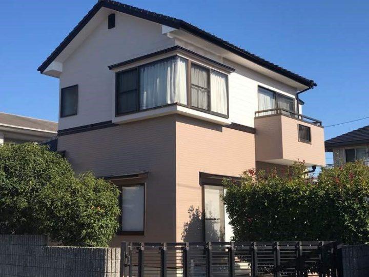 岡山市南区 H様 ハイクラスラジカルシリコン塗装