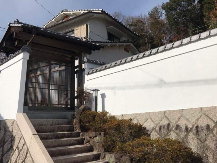 岡山市北区 N様 塀 ハイブリット光触媒塗装