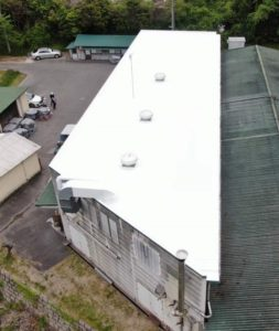 岡山市南区 某工場 シリコン(遮熱)塗装