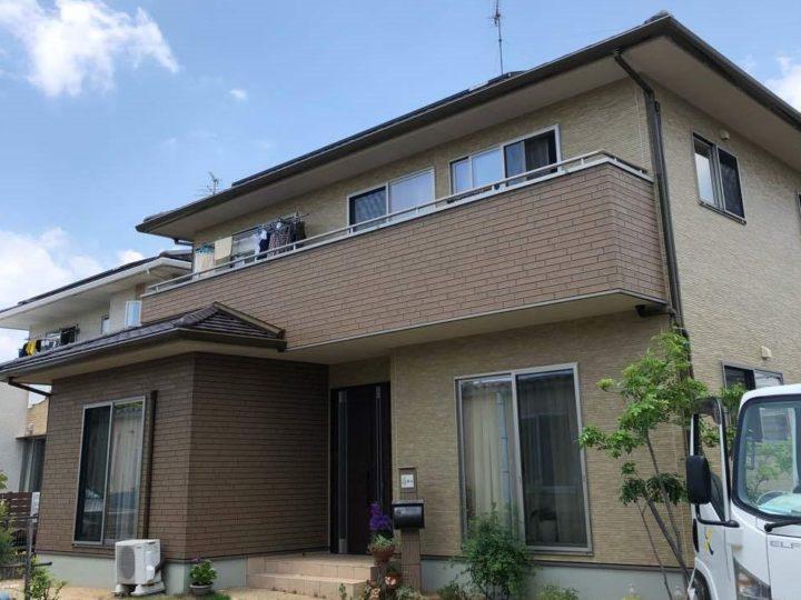 岡山市北区 F様邸 無機ハイブリット(クリヤー)塗装