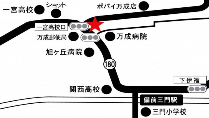 北ふれあいセンター地図