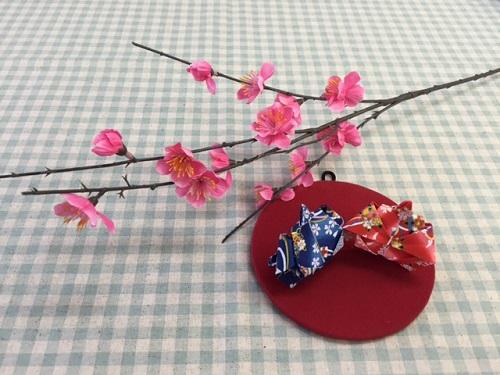 折り紙の雛人形写真