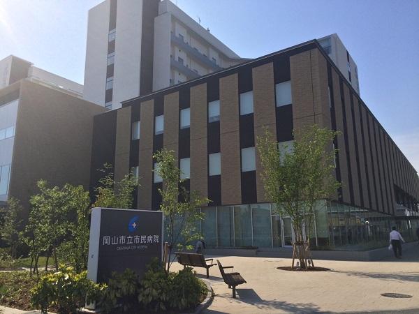 新岡山市立市民病院の写真