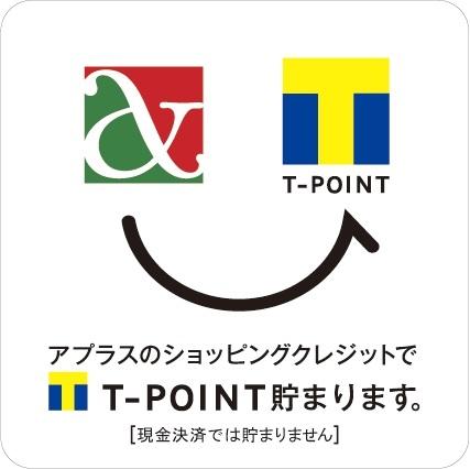 アプラス&T-POINTロゴ