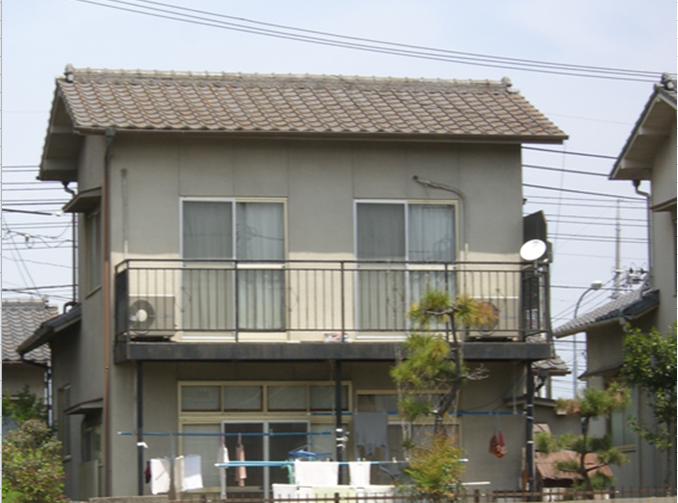 施工前の岡山市中区M様邸の写真