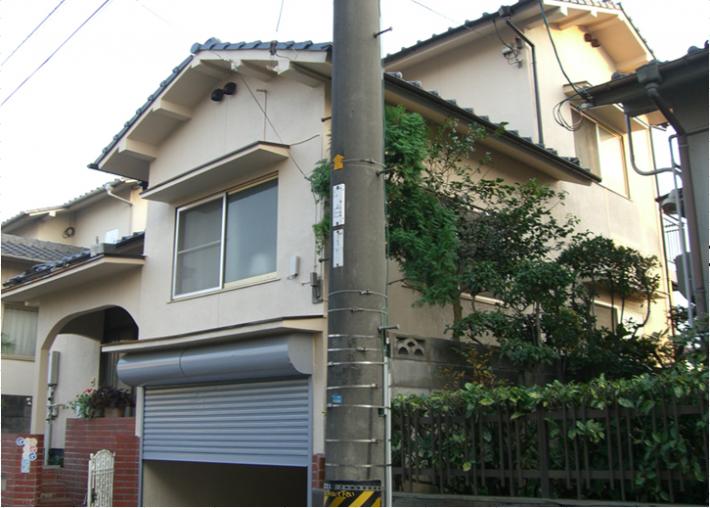 施工完了後の岡山市中区M様邸 正面写真