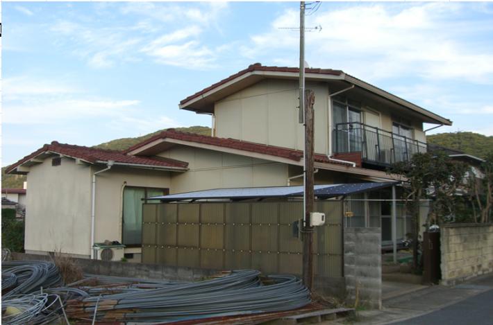 岡山市北区Y様邸の施工前の状態の写真