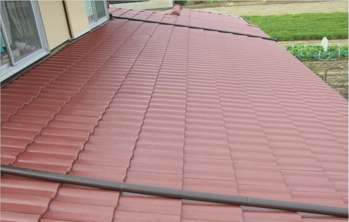 岡山市北区Y様邸の屋根施工完了の写真