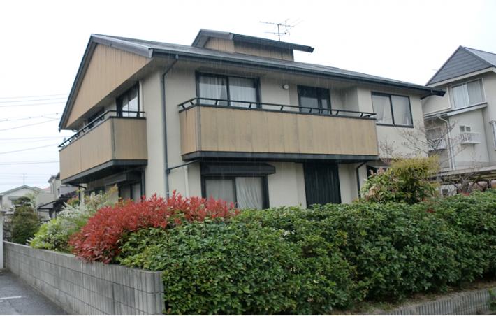 施工前の岡山市東区T様邸の写真