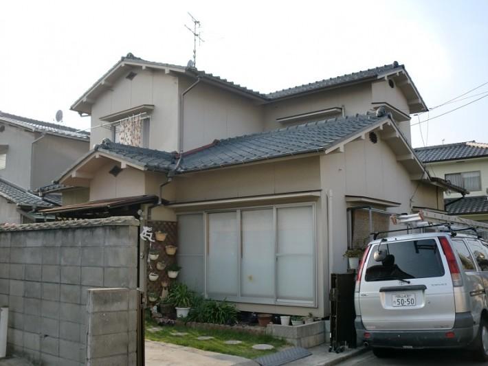 岡山市南区のO様邸の施工前の写真