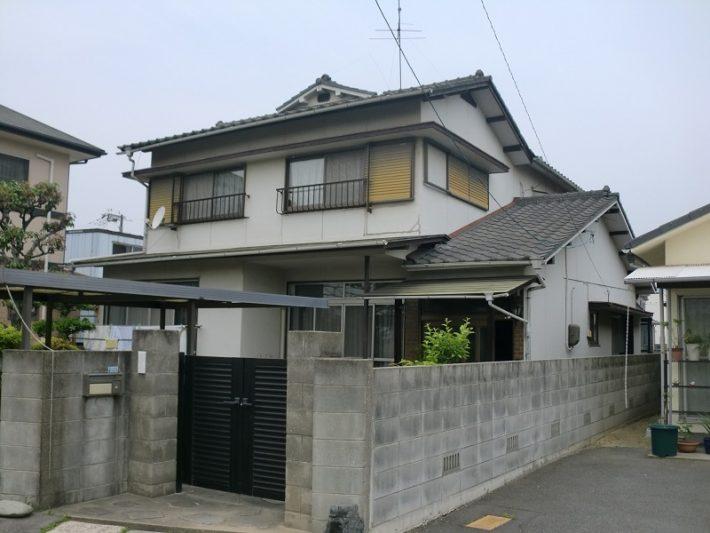 岡山市北区T様邸施工前の状態