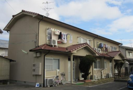岡山市北区 K様アパート施工後画像