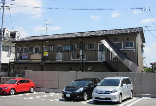 岡山市北区 賃貸アパート施工後画像