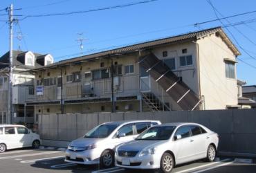 岡山市北区 賃貸アパート施工前画像