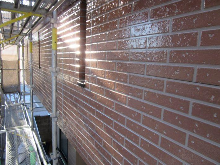 岡山市北区K様邸ベランダ部塗装終了
