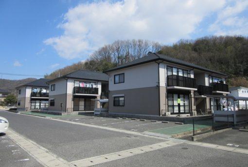 岡山市中区 某アパートA・B・C棟施工後画像