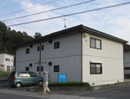 岡山市中区 某アパートA・B・C棟施工前画像2