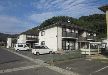 岡山市中区 某アパートA・B・C棟施工前画像