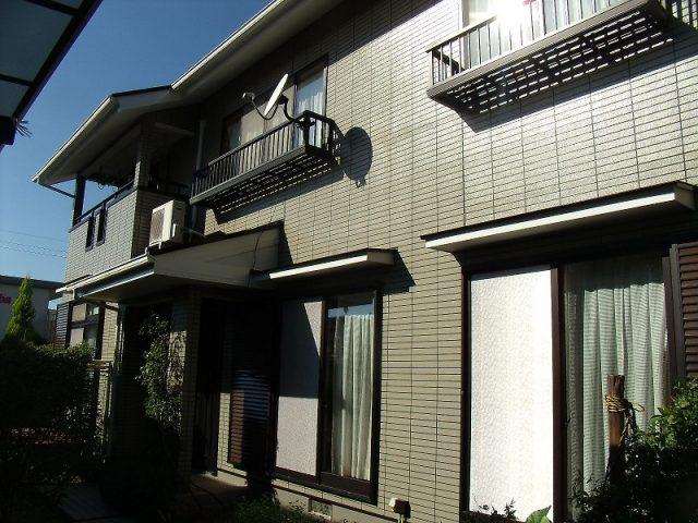 岡山市北区E様邸外壁塗装完了写真