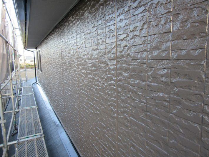 岡山市南区F様邸外壁施工完了写真