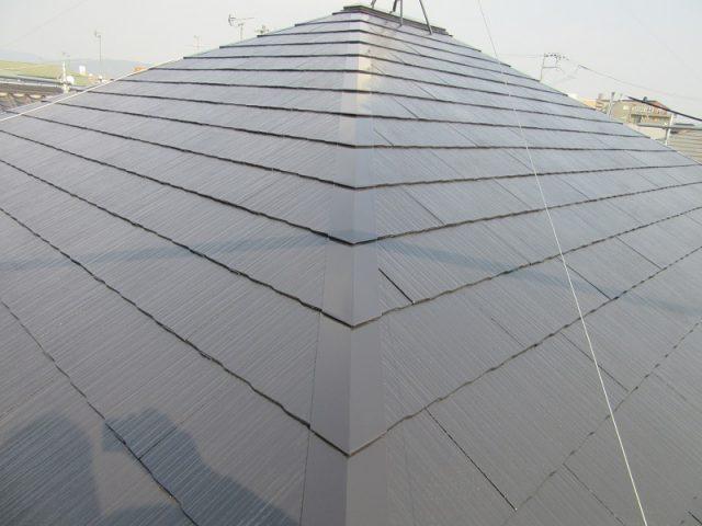 岡山市中区M様邸屋根カラーベスト施工完了
