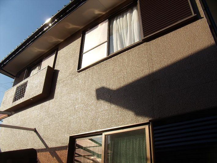 倉敷市I様邸の屋根外壁施工完成写真