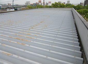 岡山市南区  某 会社屋上施工前画像