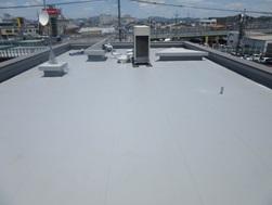 岡山市南区  某 会社屋上施工後画像2