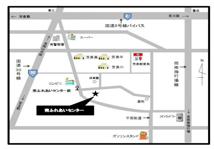 南ふれあいセンター地図 (2)