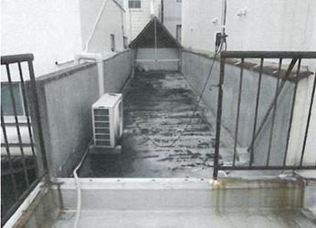 岡山市北区 某ビル施工前画像