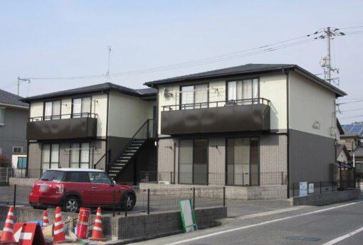 岡山市北区 某アパート施工後画像