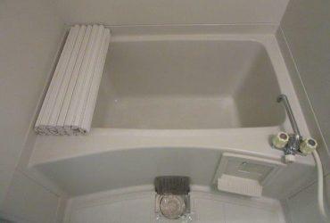 岡山市東区 某アパート浴室施工前画像