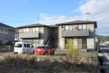 岡山市北区 某アパート施工前画像